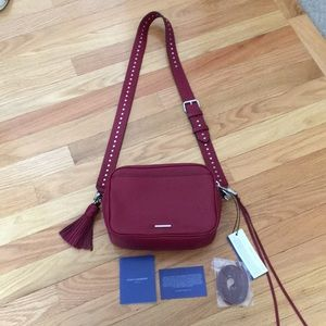 NWT Rebecca Minkoff Bryn camera bag/ crossbody